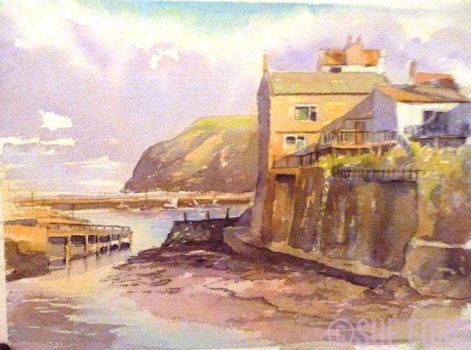 Low Tide, Staithes, North Yorkshire