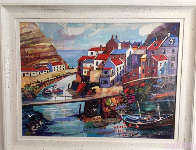 Wonderful Day to be beside the Seaside collage